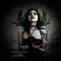 Lilith-Shadow Drawn-Out by vampirekingdom