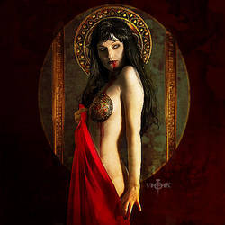 Dark Goddess Lilith Regina by vampirekingdom