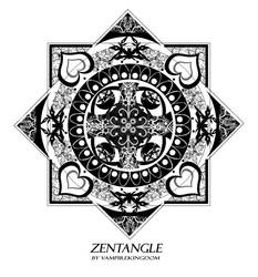 Zentangle 1 by vampirekingdom by vampirekingdom
