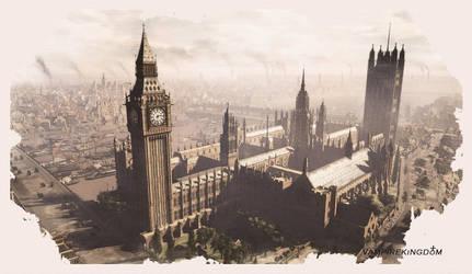 Old London Watercolour II by vampirekingdom