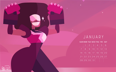 the birthstone of January: GARNET! by weirdlyprecious