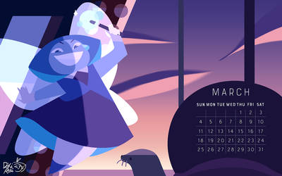 the birthstone of March: Aquamarine! by weirdlyprecious