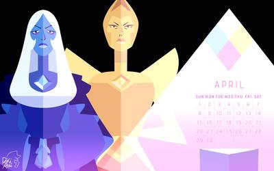 the birthstone of April: Diamonds! by weirdlyprecious