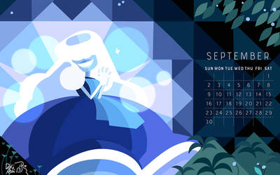 the birthstone of September: Sapphire! by weirdlyprecious