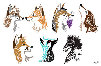 Tribal Critters by Skia