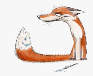 Hey, Tail. by Skia