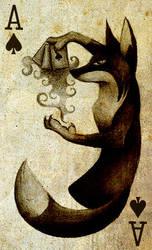 Black Magic Fox by Skia