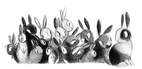 All The Rabbits II by Skia