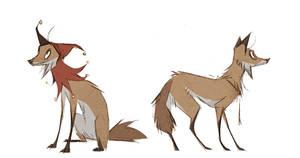 Juggler Fox, Gallows Fox by Skia