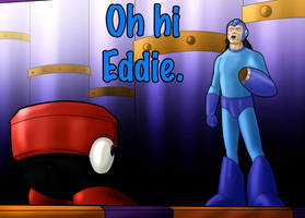 Oh Hi Eddie. by zclark