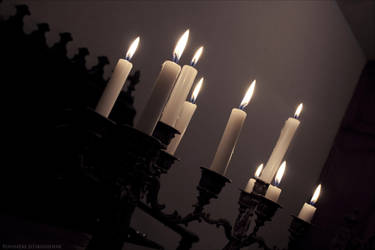 Candlestick by PoussiereObsidienne