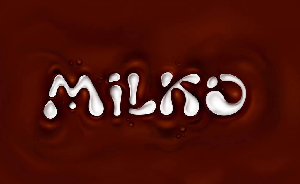 MILKO logotype redesign by CHIN2OFF