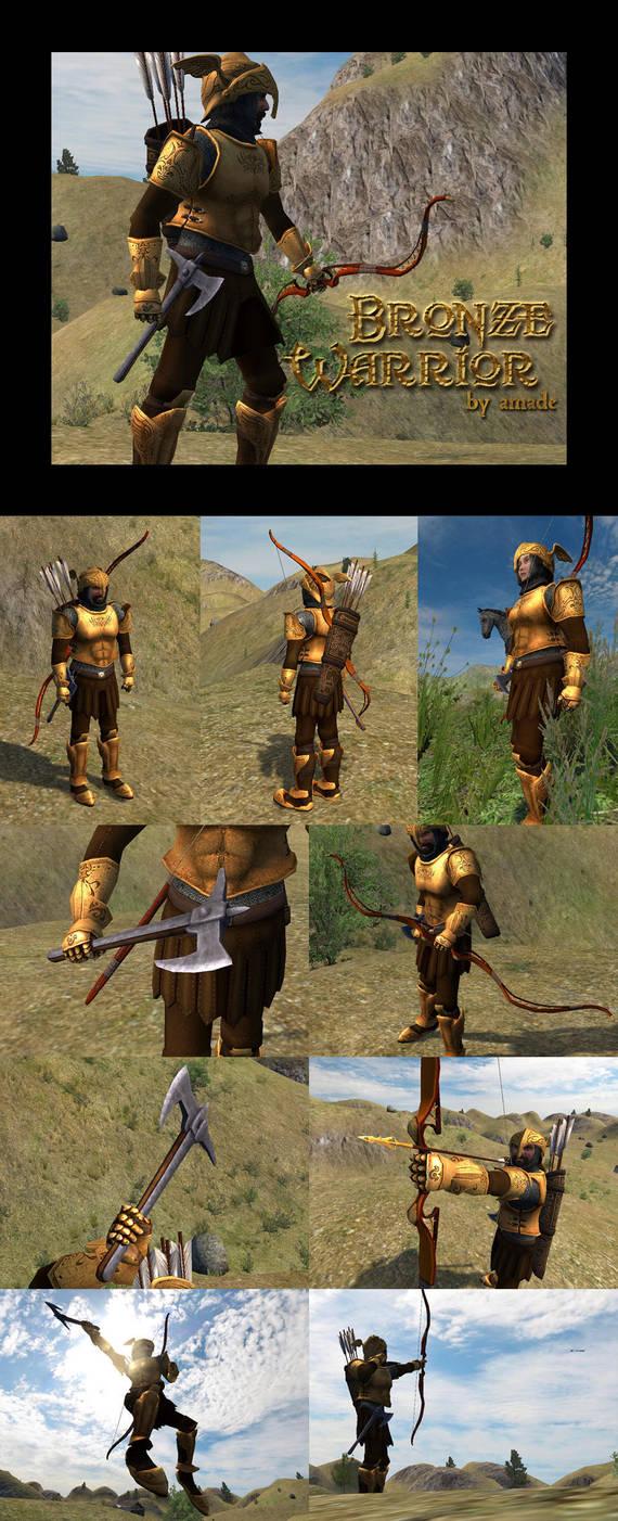 Bronze Warrior by amade