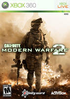 COD:MW2 Standard Boxart Remake by amade