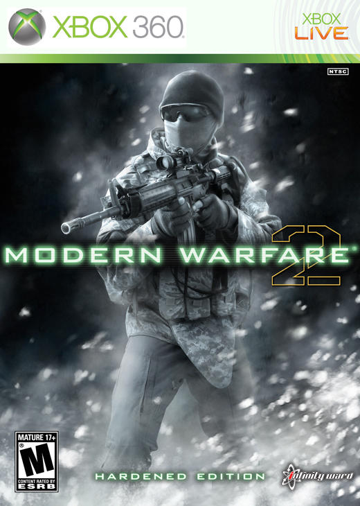 COD:MW2 HE Boxart Remake by amade