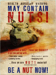 NUTS Recruitment Poster by amade