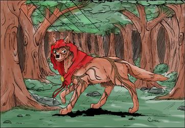 LacernellaRubra Mascot by CCDragon-93