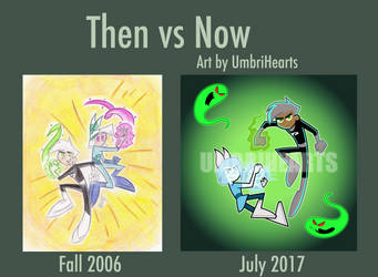 Then vs Now by UmbriHearts