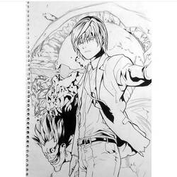 Light Yagami- Death Note! (unfinished) by BrownBeard