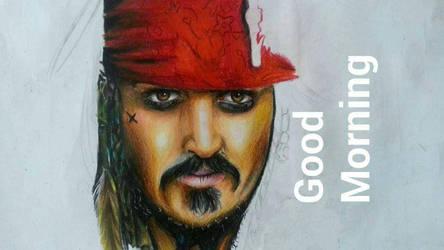 Captain Jack Sparrow by BrownBeard