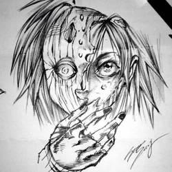 Oc main Heroine of 2nd Manga Punk 44! by BrownBeard
