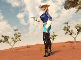 Gold Rush Cowgirl 5 by cowboy1976