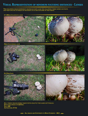 Minimum focusing distances - Lenses by ryanwaff