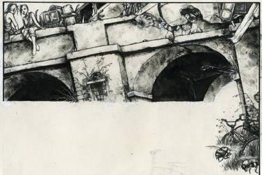 bridge blocade by ashevilleundead
