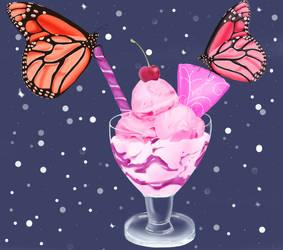 Ice cream huevember (days 8-12) by Nymaruchan