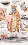Character Sheet: Fritz by Harkill