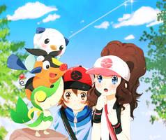 Pokemon Black n White by Ryotashisamax3