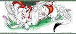 Okami Amaterasu by Dezfezable