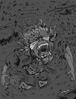 BLOODBORNE | Father Gascoigne by Dezfezable