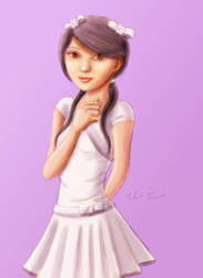 Fan Art of Chinese Cutes' Feifei by Mr. Poly by chinese-cutes