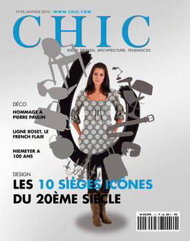 Couverture magazine 'Chic' by Bloomy021