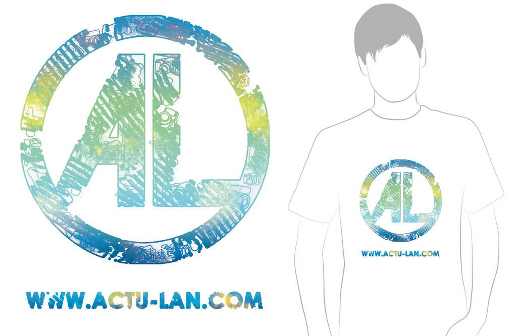 Actu-Lan - Tee-shirt 2010 by Bloomy021