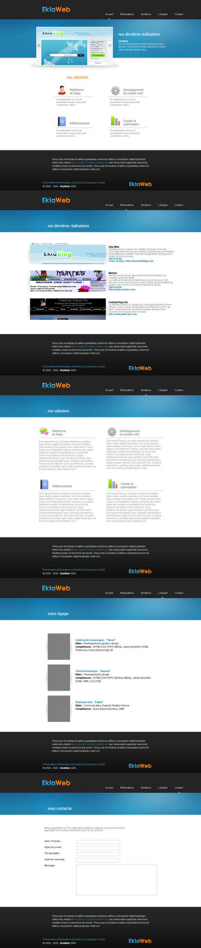 Ekla Web by Bloomy021