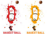Affiche Basket21 by Bloomy021