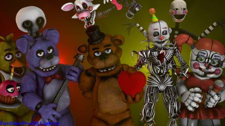 Valentine's Day by FuntimeFreddyFazbear