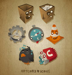 Artcore Icons Nr. 2 by artcoreillustrations