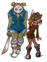 Freddi and Jayna by Mr-DNA