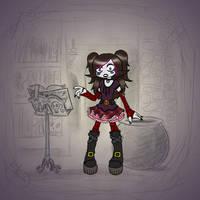 Angela's Magic Lesson - Goth Attire by Mr-DNA