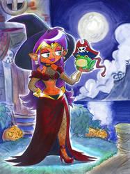 Shantae: Half-Witch Hero? by Mr-DNA
