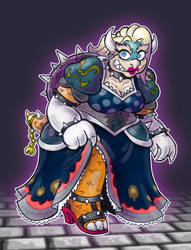 Koopa Queen Brioche by Mr-DNA