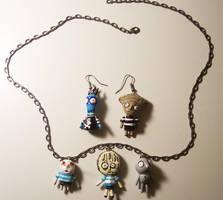 Oyster Boy Jewelry Set by jnsun