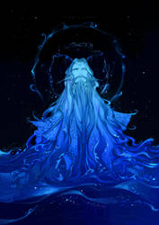 [Silmarillion]deep sea by Wavesheep
