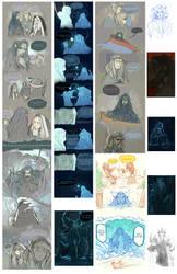 [silmarillion]comics and sketch by Wavesheep