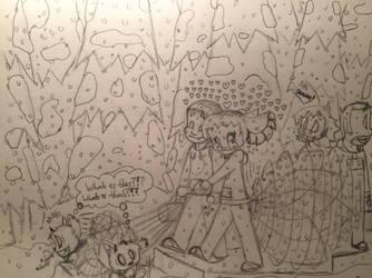 Snowy Stroll by JaytheDragon94