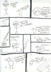 Albatross Comic II by feetpeetart