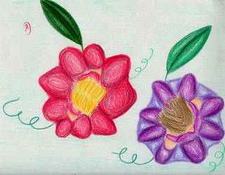 Flower Girls by feetpeetart